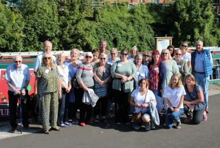 Unpaid Carers Enjoy Devizes Barge Trip Courtesy of Zurich thumbnail