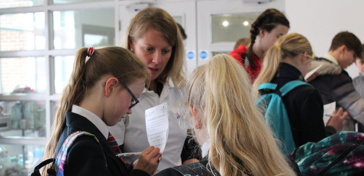 Carer Support Wiltshire Visits Schools and Colleges for Young Carer Awareness Day