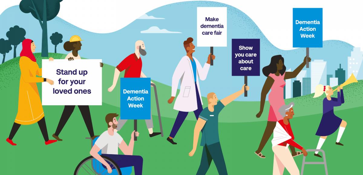 #DementiaActionWeek – looking after someone with dementia